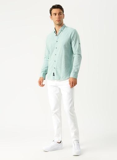 Twister Gömlek Yeşil